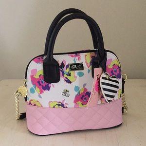 (Betsey Johnson) Springtime dome satchel